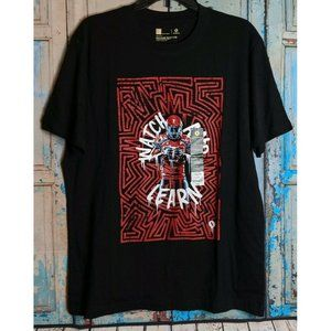 XERSION Mens Large Athletic T-Shirt Graphic Tee